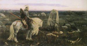 Виктор Васнецов, Витязь на распутье, 1878 год