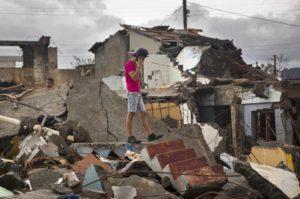 Разрушения урагана Метью на Кубе