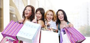 Счастливые покупательницы