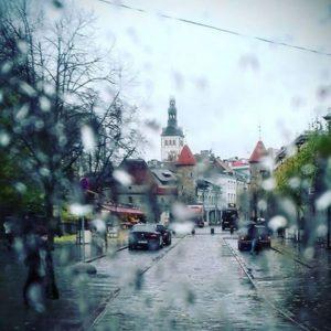 Осень в Таллинне