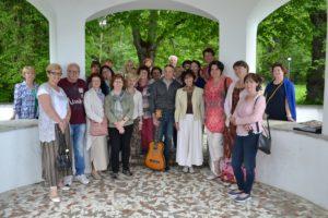 Участники литературно-музыкальной экскурсии