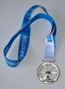 Медаль Таллиннского полумарафона 2018 года