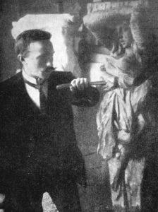 Конрад Мяги в училище А.Штиглица