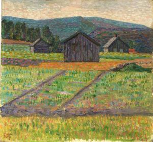 Конрад Мяги, Норвежский пейзаж