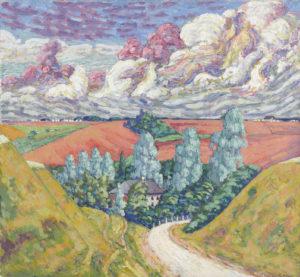 Konrad_Mägi._Teel_Viljandist_Tartusse._1915-1916
