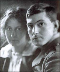 Рут и Джордж Мэллори, 1916 г.