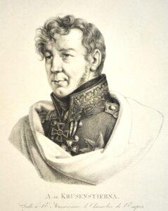 Портрет И.Ф.Крузенштерна